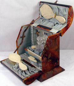Frivolous Fabulous - Antique Victorian Vanity Box Set Frivolous Fabulous Trousseau