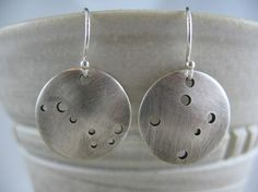 TOTALLY Lusting after these!!! Constellation Earrings  Southern Cross and by DreamingTreeCreation