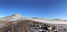 Snow in the Atacama Desert