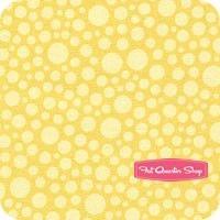 Fancy Free Yellow Dots Yardage SKU# C4063-YELLOW