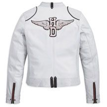Women's Cottonwood Leather Jacket | MotorClothes® Merchandise | Harley-Davidson USA