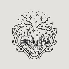 "5,059 tykkäystä, 96 kommenttia - Liam Ashurst (@liamashurst) Instagramissa: ""Did a Hogwarts piece because I'm still in Harry Potter mode after Fantastic Beasts yesterday! 🏰…"""
