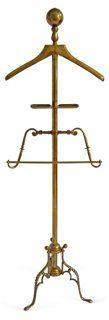 Brass Valet Stand