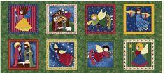 Artesanato com amor...by Lu Guimarães: Coleção de Tecidos de Natal