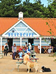 Beach Café : Eat & Drink : Holkham Hall and Estate - North Norfolk, England