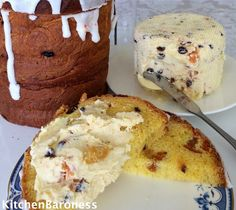 KitchenBaroness: Paskha Fruit Studded Creamy Cheese Spread Without The Raw Eggs