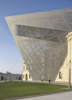 Military History Museum Dresden, Germany by: Studio Daniel Libeskind photo: Hufton+Crow Photography - Architizer