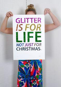 glitter @Katie Alison
