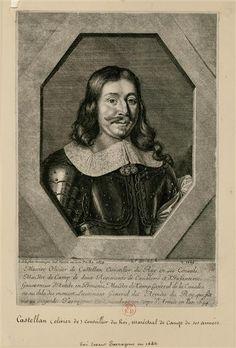 Olivier, Comte de Castellan (ob.1646), Maréchal des Camps, Gouverneur d'Antibes.