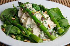 Chicken Salad With Asparagus - #chicken, #salad, #recipe