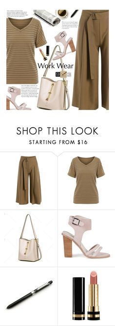 """""""Work Wear"""" by beebeely-look ❤ liked on Polyvore featuring Sol Sana, Gucci, WorkWear, casual, stripes, twinkledeals and MyPowerLook"""
