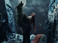 VAN HELSING mourns when he is a werewolf