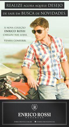 Nova Coleção Enrico Rossi.