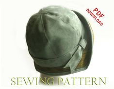 SEWING PATTERN - Eleanor, 1920s Cloche Hat for Child or Adult