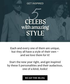 Each and every one of them are unique, but they all have a style of their own – and we love them for it! Start the new year right, and get inspired by these 5 personalities and their audacious, one of a kind, looks. #celebsstyle #ootdinspo #starstyle #getinspired #fasion #trends #victoriabeckham #oliviawilde #kamalaharris