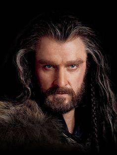 Richard Armitage as Thorin Oakenshield in The Hobbit Trilogy Der Hobbit Thorin, Baggins Bilbo, O Hobbit, Thorin Oakenshield, Hobbit Art, Sherlock Quotes, Sherlock John, Richard Armitage, Misty Eyes
