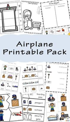 For Kids Free Airplane Printable Pack full of activities, coloring, and more for kids to do on the go!Pack Pack or packs may refer to: Homeschool Preschool Curriculum, Homeschool Supplies, Preschool Activities, Homeschooling, Multicultural Activities, Homeschool Worksheets, Fall Preschool, Preschool Education, Spring Activities