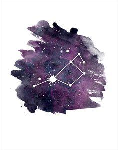 Pleiades Star Cluster Seven sisters Astronomy by HamptyDamptyArt