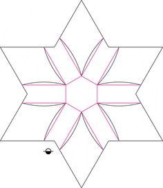 Iris Bowl Crease Pattern | Flickr - Photo Sharing!