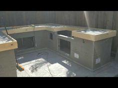 How to Build a Concrete Countertop - DIY - YouTube
