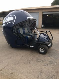 Seattle Seahawks Golf Cart