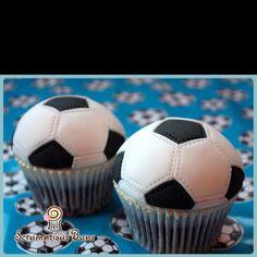 Cake salmon, leeks and dill - Clean Eating Snacks Cupcakes Fondant, Soccer Birthday Cakes, Football Cupcakes, Cupcakes For Men, Soccer Cake, Kid Cupcakes, Soccer Party, Cupcake Cakes, 15 Birthday