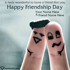 Friendship Day is a day in several countries for celebrating friendship. It was first proposed in 1958 in Paraguay as the International Friendship Day. Happy Frndship Day, Happy Friends Day, Best Friend Quotes Images, Friendship Day Quotes Images, Happy Friendship Day Picture, Friendship Day Wishes, Wedding Gifts For Men, Best Gifts For Men, International Friendship Day