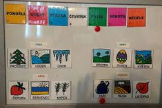 Mesice v roce Kindergarten, Photo Wall, Language, Education, Photo And Video, Blog, Advent, Autism, Photograph