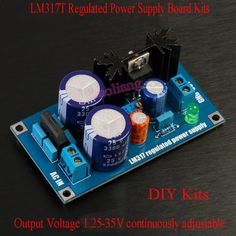 LM317T-Regulated-Power-Supply-Board-Kits-Single-Power-1-25-35V-Output-Adjustable