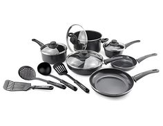 GreenLife Soft Grip Diamond Reinforced 14pc Ceramic NonStick Cookware Set *** Be sure to check out this awesome product.Note:It is affiliate link to Amazon.