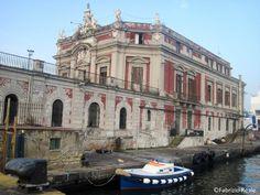 #Palazzo dell'Immacolatella - porto di# Napoli @Fabrizio Reale