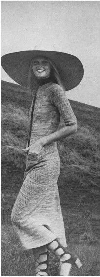 Gunilla Lindblad Vogue 1971 | Repinned by Temple Towels & Swim, www.templetowels.com