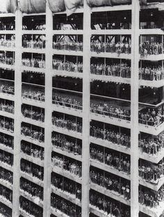 ryanpanos: Construction of One Chase Manhattan Plaza: New York 1955 via Retronaut