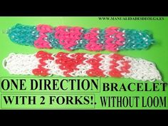 Welcome to Olga Crafts a channel with videos of ideas on how to make easy and simple crafts and life hacks Here are some pretty amazing hacks for the whole f. Loom Band Bracelets, Rubber Band Bracelet, Loom Bands, Cute Crafts For Teens, Rainbow Loom Characters, Rubber Band Crafts, Rubber Bands, How To Make Butterfly, One Direction
