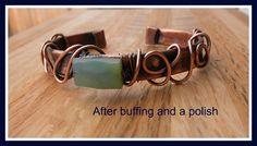 Copper Cuff (Customer Design) - Lima Beads