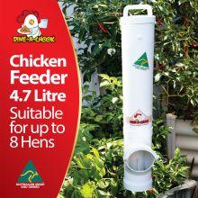 Chicken Feeder | 99% Rain & Rodent Proof | Dine a Chook&reg