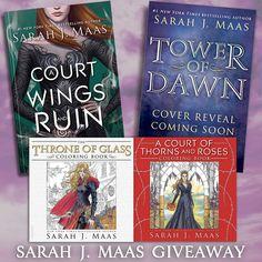 Sarah J Maas Book Giveaway