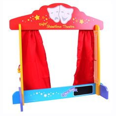 Shop for Bigjigs Toys Wooden Table Top Theatre - Puppet Show, Finger Puppets. Starting from Choose from the 2 best options & compare live & historic toys and game prices. Silly Puppets, Puppets For Kids, Hand Puppets, Toddler Toys, Kids Toys, 4 Kids, Children, Bayer Chic 2000, Fun Places For Kids