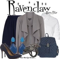 Inspired by Hogwart's Ravenclaw House from the Harry Potter franchise.