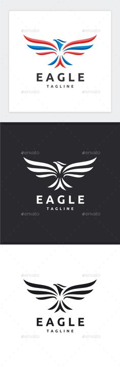 Eagle Logo — Photoshop PSD #image #strength • Available here → https://graphicriver.net/item/eagle-logo/17054572?ref=pxcr