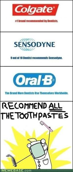 As a future hygienist, I find this hilarious.