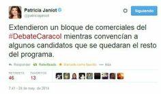 @Elogiag @Malugoe @Toto Rangel @Martha Lucia Hurtado Bedoya @energivital @Mi_Glori   QUE VERGÜENZA #DebateCaracol pic.twitter.com/Ewn782aigs