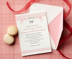 Claremont Collection invitations Wedding Invitations Photos on WeddingWire