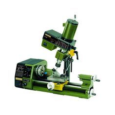 Extremely versatile and accurate micro metal lathe and drill head attachment.