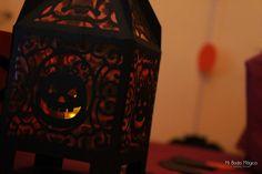 Decoración halloween: Lampara terrorífica