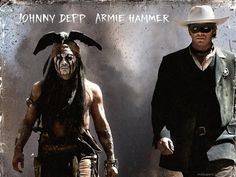 Johnny Depp Armie Hammer Lone Ranger Wallpapers