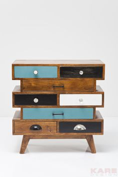 Dresser Malibu Butterfly (8 Drawer) at Kare #dresser #furniture #wood
