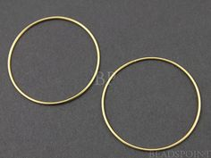 24K Gold Vermeil over Sterling Silver Extra Large by Beadspoint, $7.99