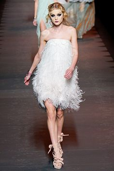 Christian Dior I probably wouldn't..but a flower girl or bridesmaid would look great maybe