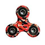 #9: Sunrisetop Fidget Hand Spinner Toy Camouflage Carton Package Ceramic Bearing Fidget Toy Stress Reducer Hand Spinner Fidget Toy Spend your time and energy in training yourself for spiritual fitness.
